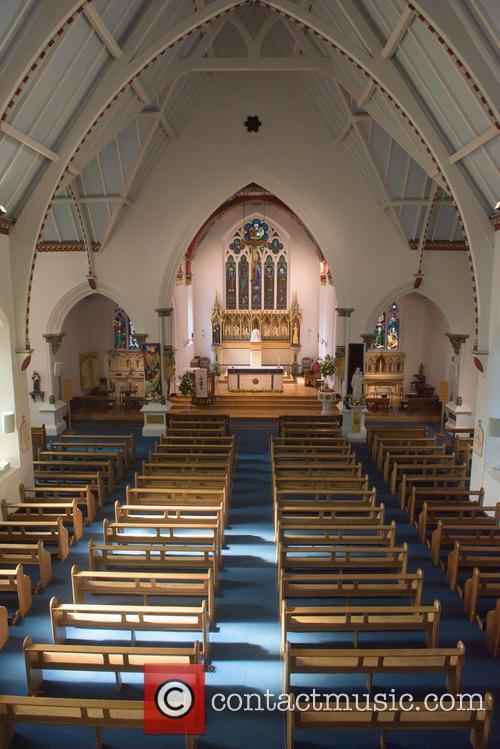 Cilla Black and St Mary's Church 6