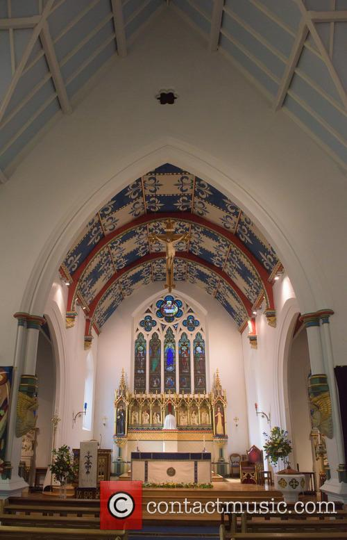 Cilla Black and St Mary's Church 9