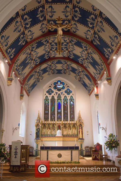Cilla Black and St Mary's Church 10