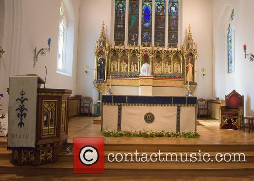 Cilla Black and St Mary's Church 1