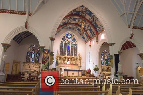 Cilla Black and St Mary's Church 11
