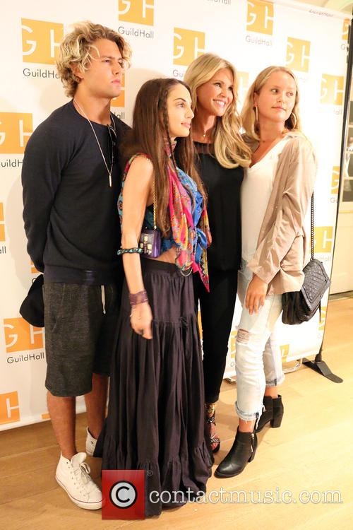 Jack Brinkley Cook, Alexa Ray Joel, Christie Brinkley and Sailor Cook