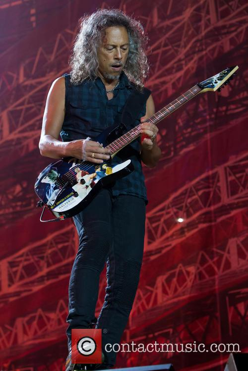 Metallica and Kirk Hammett 1