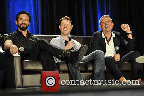 Milo Ventimiglia, Ben Mckenzie and Sean Pertwee