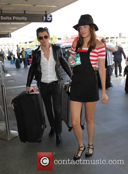 Alex Turner and Taylor Bagley