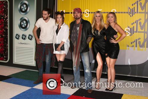 Braison Cyrus, Noah Cyrus, Billy Ray Cryus, Tish Cyrus and Brandi Cyrus 5