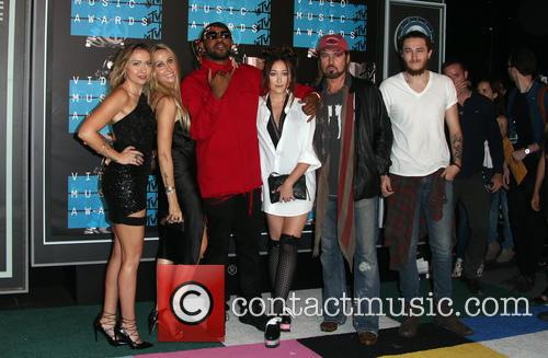 Braison Cyrus, Noah Cyrus, Billy Ray Cryus, Tish Cyrus, Brandi Cyrus and Mike Will Made It