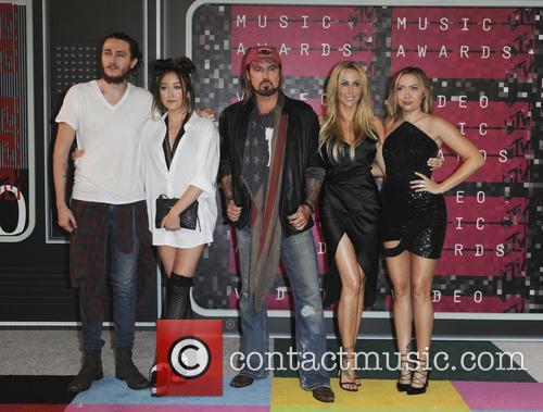 Braison Cyrus, Tish Cyrus, Noah Cyrus, Billy Ray Cyrus and Brandi Glenn Cyrus 2