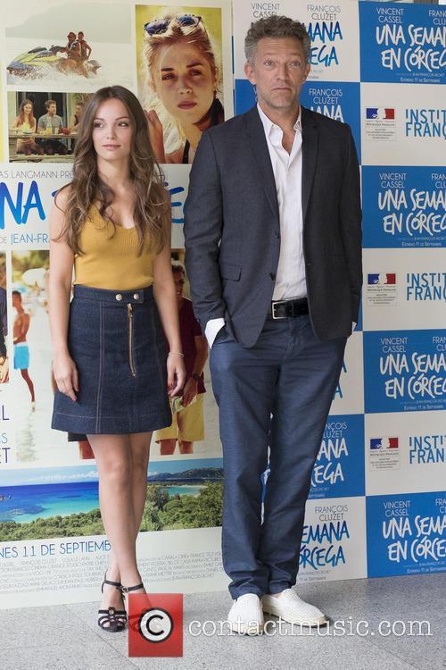 Lola Le Lann and Vincent Cassel