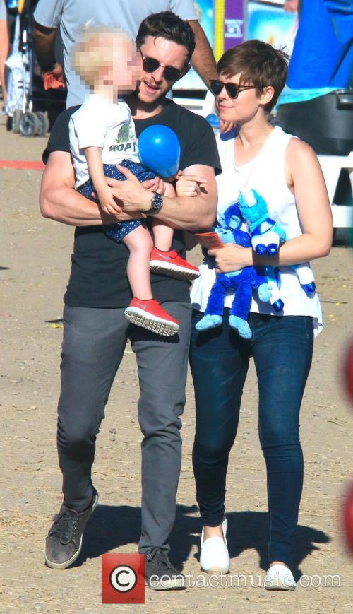 Jamie Bell and Kate Mara 3