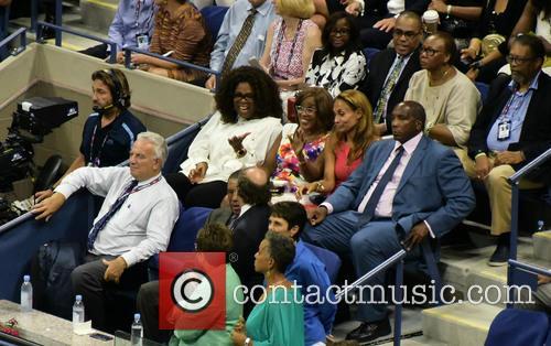 Oprah Winfrey and Gail King