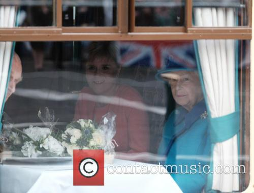 Nicola Sturgeon, Queen Elizabeth Ii and The Duke Of Edinburgh