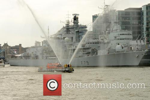 River Thames Flotilla and Atmosphere 1