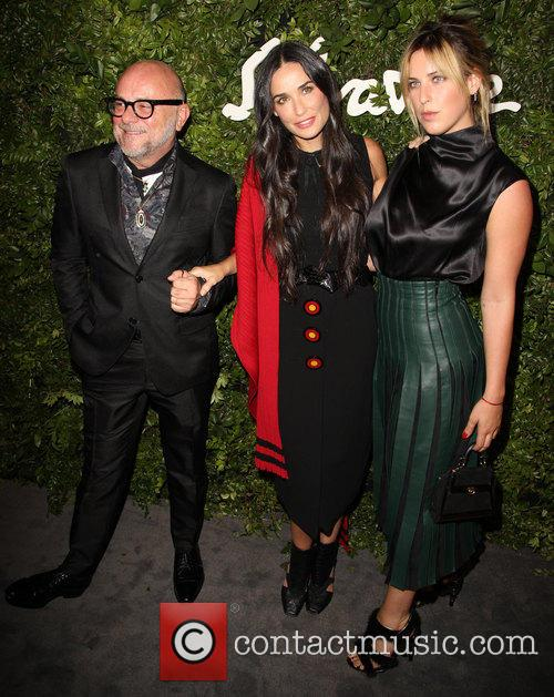 Eric Buterbaugh, Demi Moore and Scout Willis