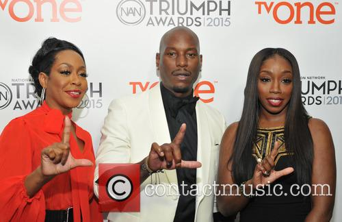 Tichina Arnold, Tyrese Gibson and Estelle