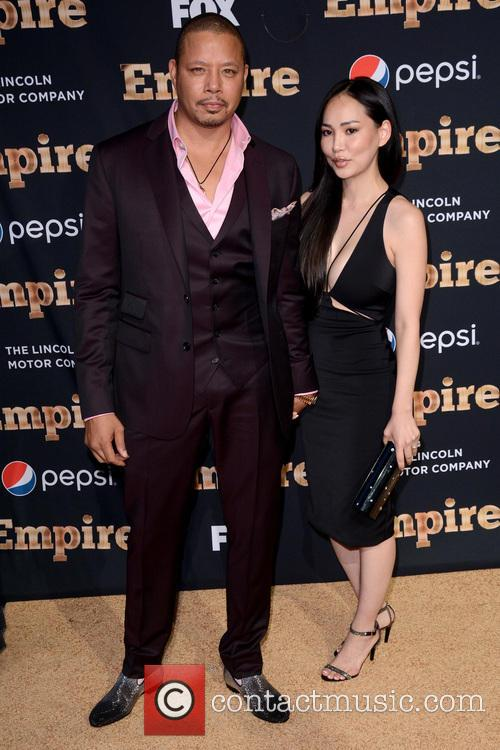 Terrence Howard and Miranda Howard