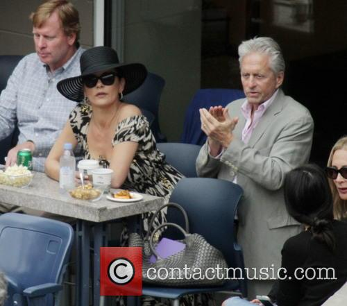 Michael Douglas and Catherine Zeta-jones 4