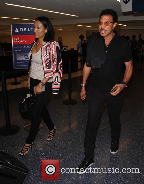 Lionel Richie and Lisa Parigi 1