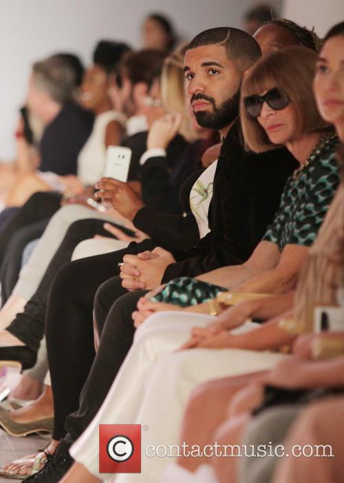 Drake and Anna Wintour 1