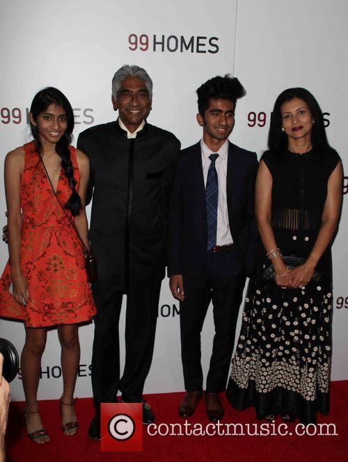 Ashok Amritraj and Family