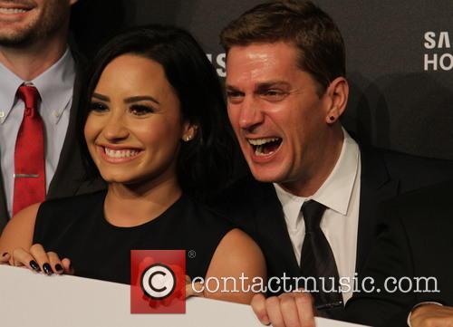 Demi Lovato and Rob Thomas