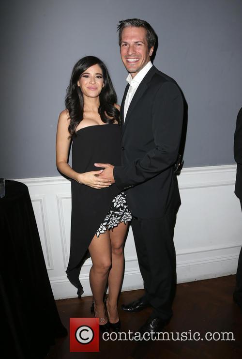 Edy Ganem and Baby Daddy