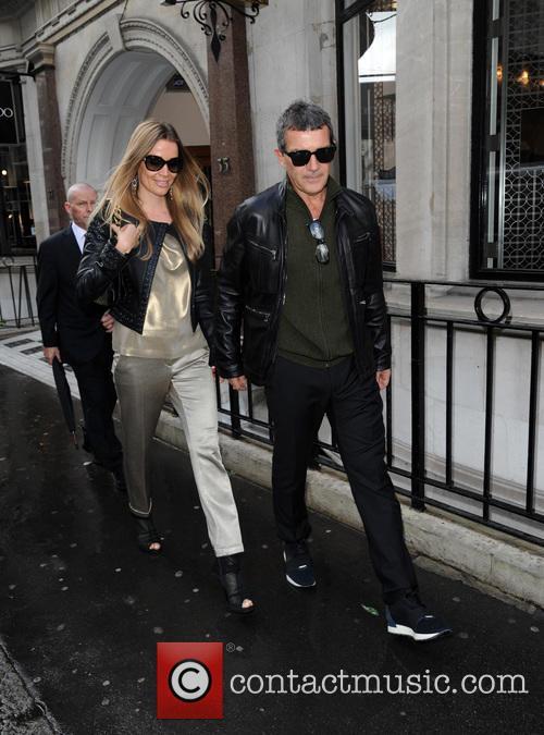 Antonio Banderas and Nicole Kimpel