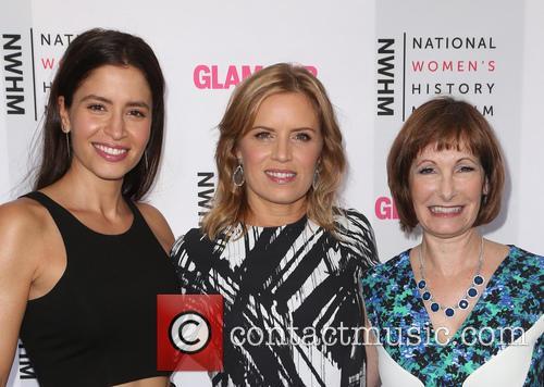 Mercedes Maso, Kim Dickens and Gale Anne Hurd