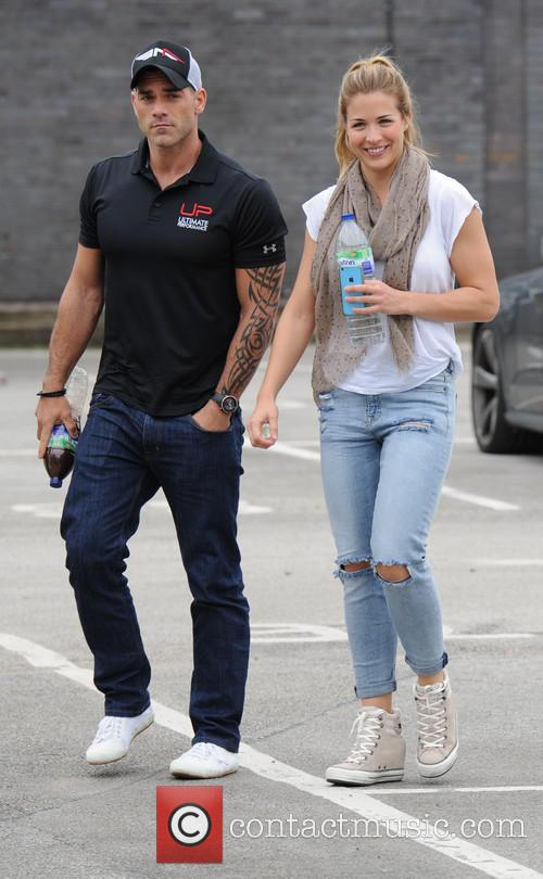 Gemma Atkinson and Olly Foster