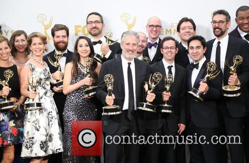 Jon Stewart and Writers
