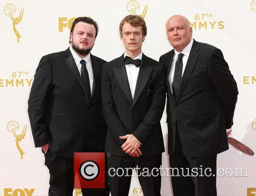 John Bradley-west, Alfie Allen and Conleth Hill