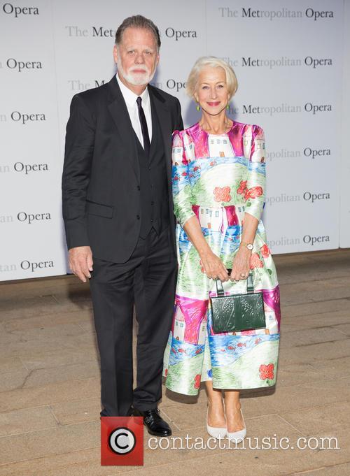 Taylor Hackford and Dame Helen Mirren