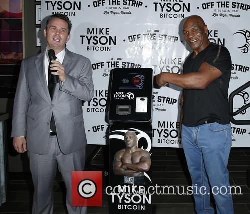 Peter Lkamka and Mike Tyson 2