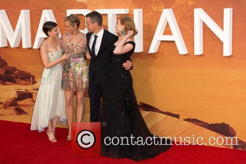 Kristen Wiig, Matt Damon, Jessica Chastain and Kate Mara