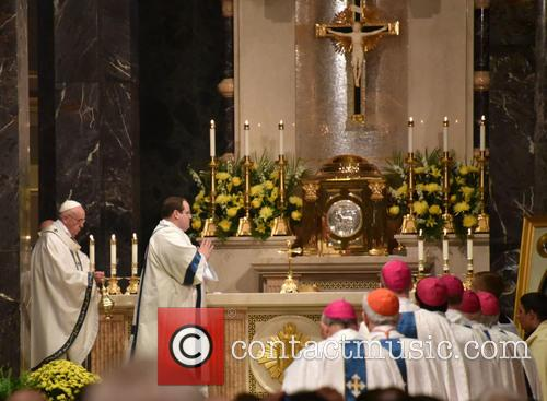 Cathedral and Pope Francis 2