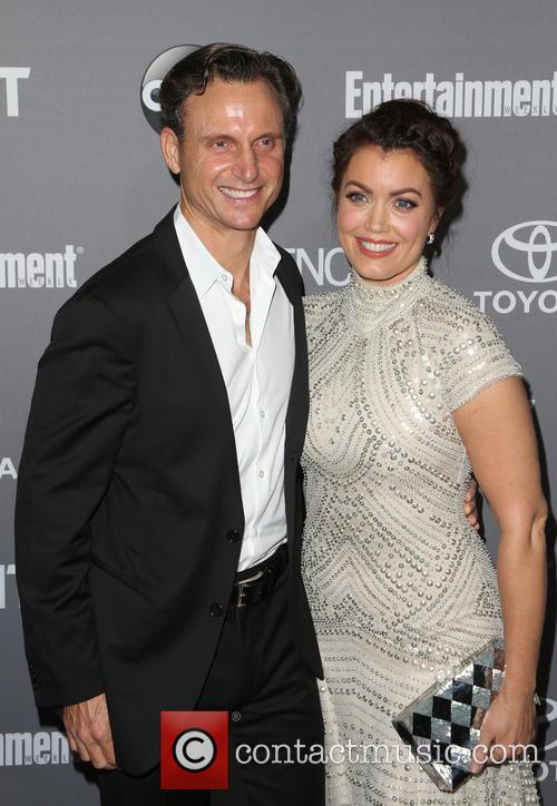 Tony Goldwyn and Bellamy Young