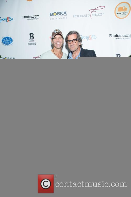 John Derian and Griffin Dunne