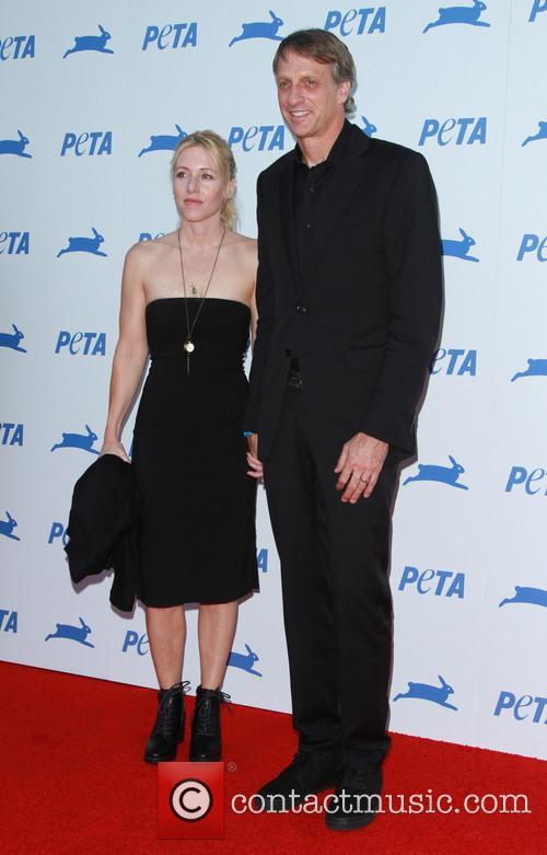 Tony Hawk and Catherine Goodman