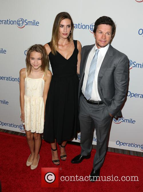 Ella Rae Wahlberg, Rhea Durham and Mark Wahlberg