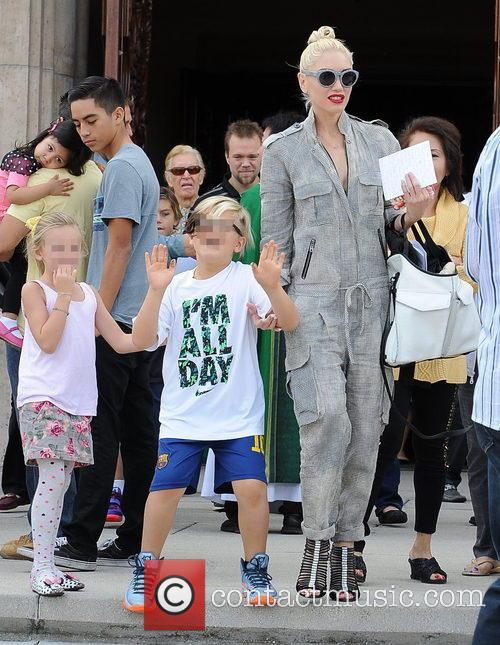 Gwen Stefani and Zuma Rossdale 3