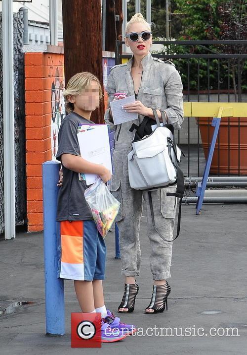 Gwen Stefani and Kingston Rossdale 8