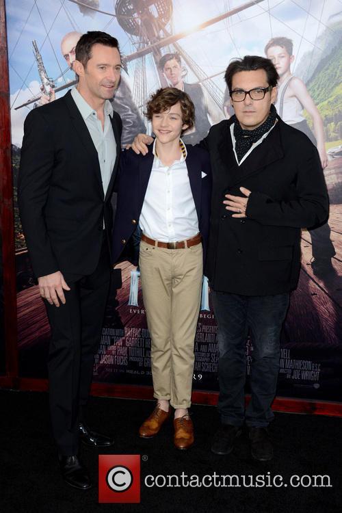 Hugh Jackman, Levi Miller and Joe Wright
