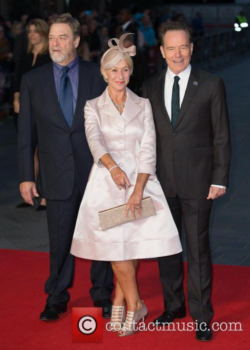Dame Helen Mirren, John Goodman and Bryan Cranston 3