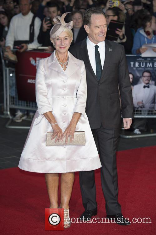 Dame Helen Mirren and Bryan Cranston