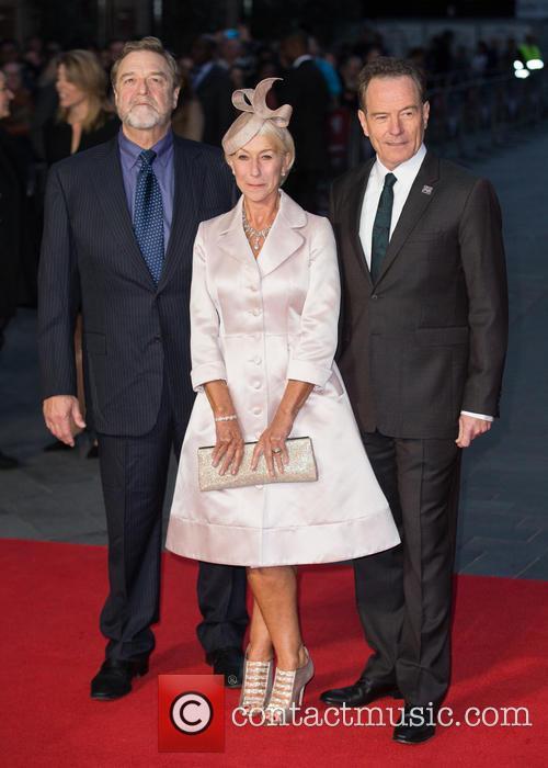 Dame Helen Mirren, John Goodman and Bryan Cranston 2
