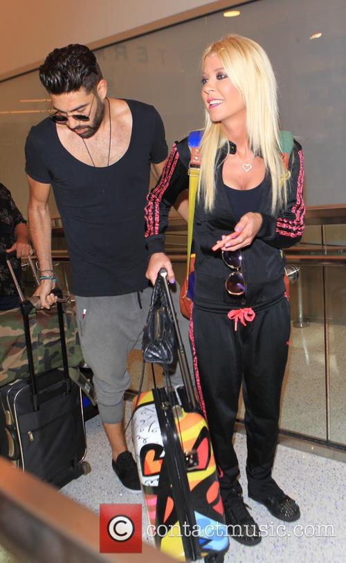 Tara Reid and Yavuz Cansiz 2
