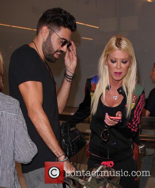 Tara Reid and Yavuz Cansiz 1