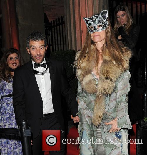 Antonio Banderas and Nicole Kimpel 3