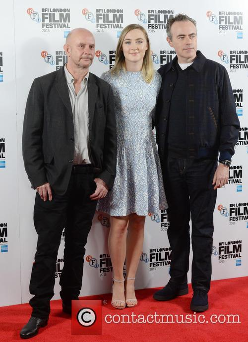 Saoirse Ronan, John Crowley and Nick Hornby