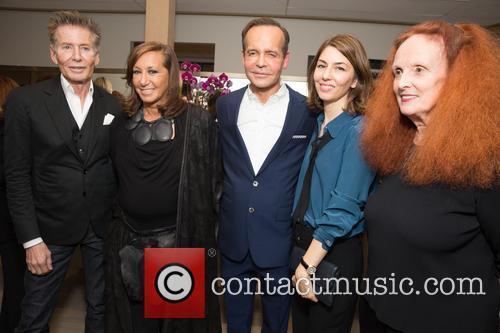 Calvin Klein, Donna Karan, Louis Licari, Sofia Coppola and Grace Coddington
